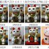 当店人気招き猫ベスト12を発表!