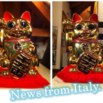 イタリアのChiaraさんの招き猫