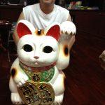 タイのキティさん宅の招き猫