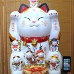 錦彩七福神招き猫(20号)