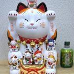 錦彩七福神招き猫(12号)