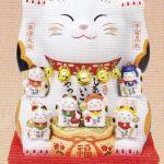 錦彩七福神招き猫(8号)