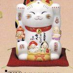 彩絵七福神招き猫(6号)