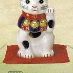染錦招き猫(7号)